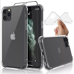 iPhone 11 Pro Transparent soft clear case cover